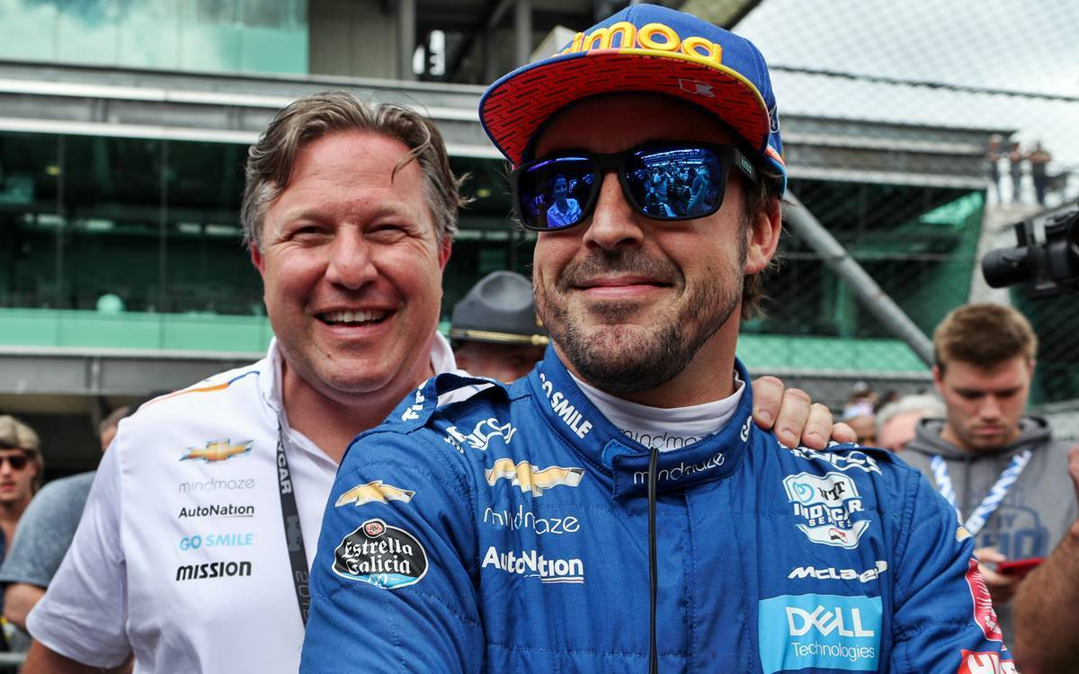 Brown confía en seguir contando con Alonso