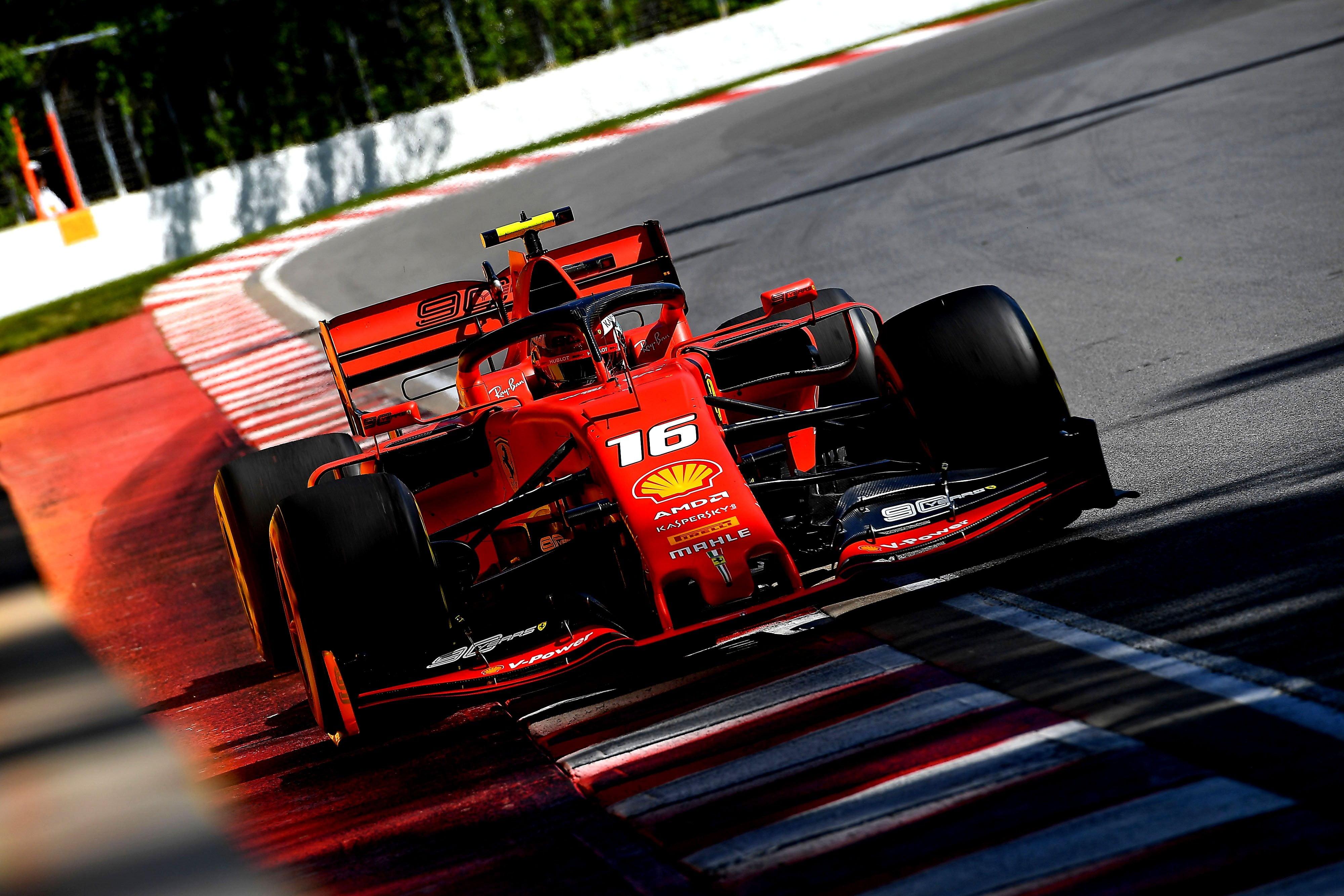 Leclerc no tuvo información del equipoç