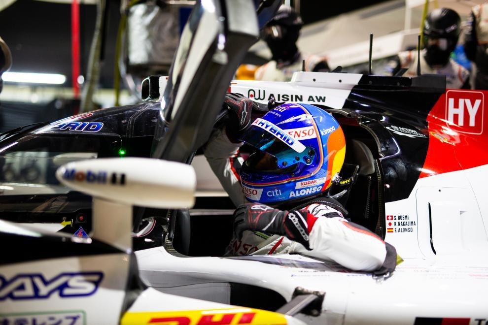 Fernando Alonso prepara las 24 Horas