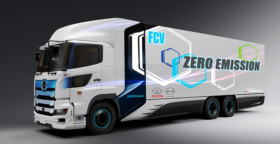 Toyota trabaja en vehículos de transporte propulsados por hidrógeno