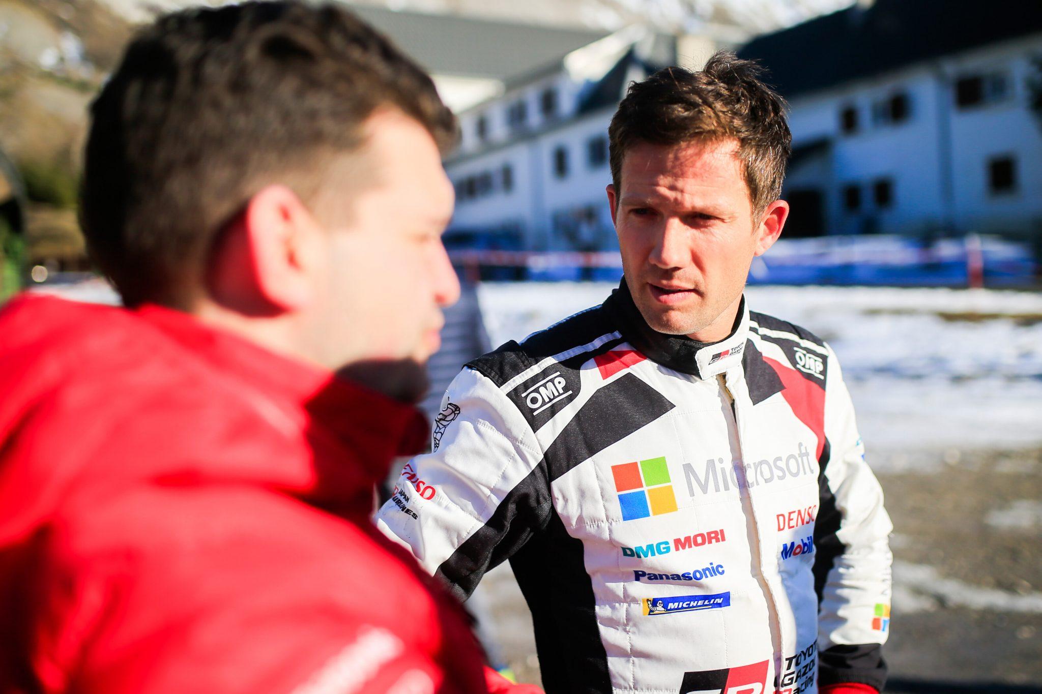 Ogier medita su futuro en el WRC