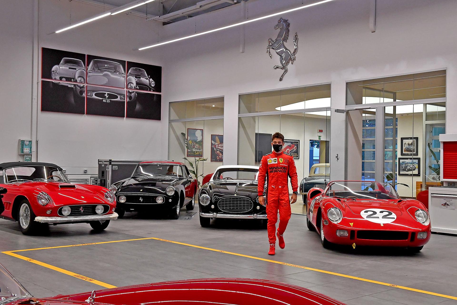 Ferrari quiere que Maranello sea el hogar de sus pilotos.