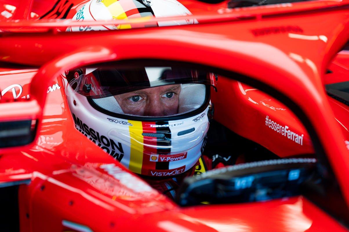 Vettel ha querido aclarar la situación