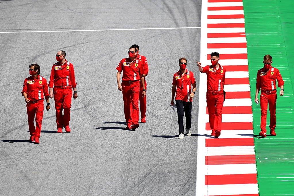 Ferrari va a reaccionar tras las palabras de Vettel
