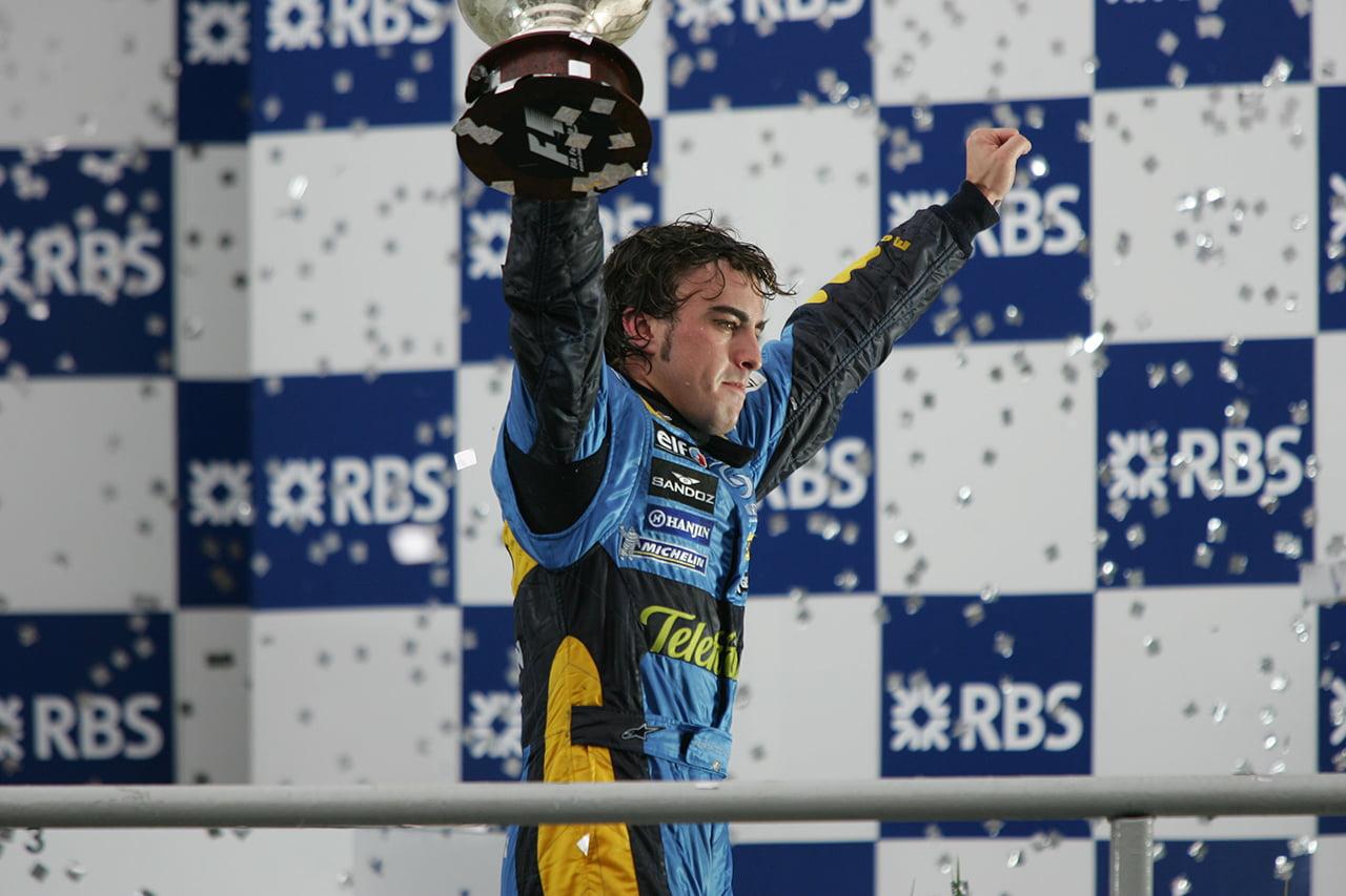 Alonso y Renault F1 un binomio vencedor en el pasado