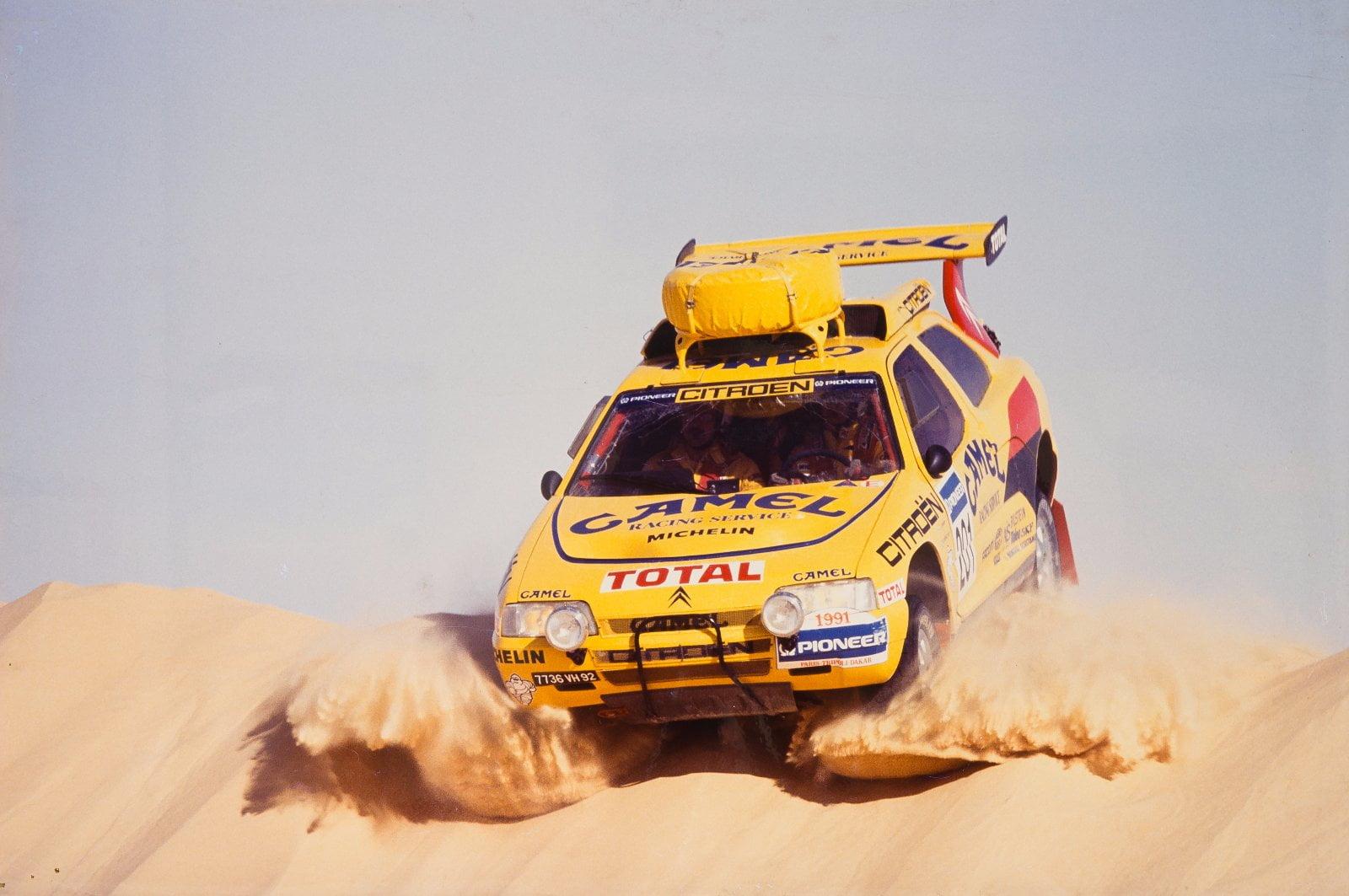 Citroën ZX en su version Rallye-Raid venció en todos los frentes posibles.