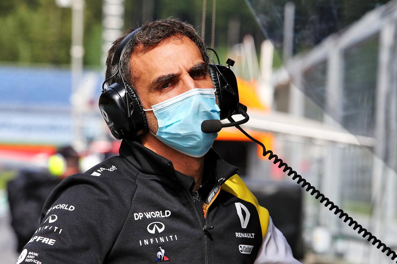 Abiteboul tiene un papel complicado por delante en Renault F1