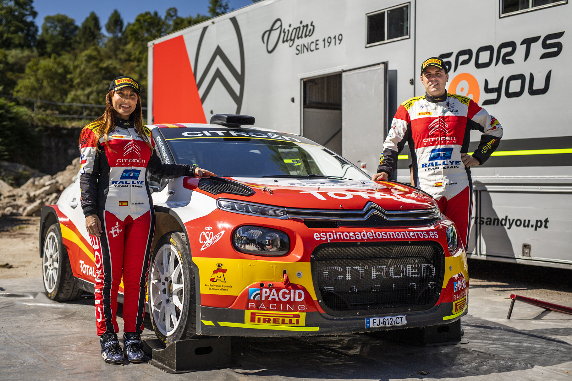 El Rallye Team Spain debuta en el Europeo ERC1 Junior.