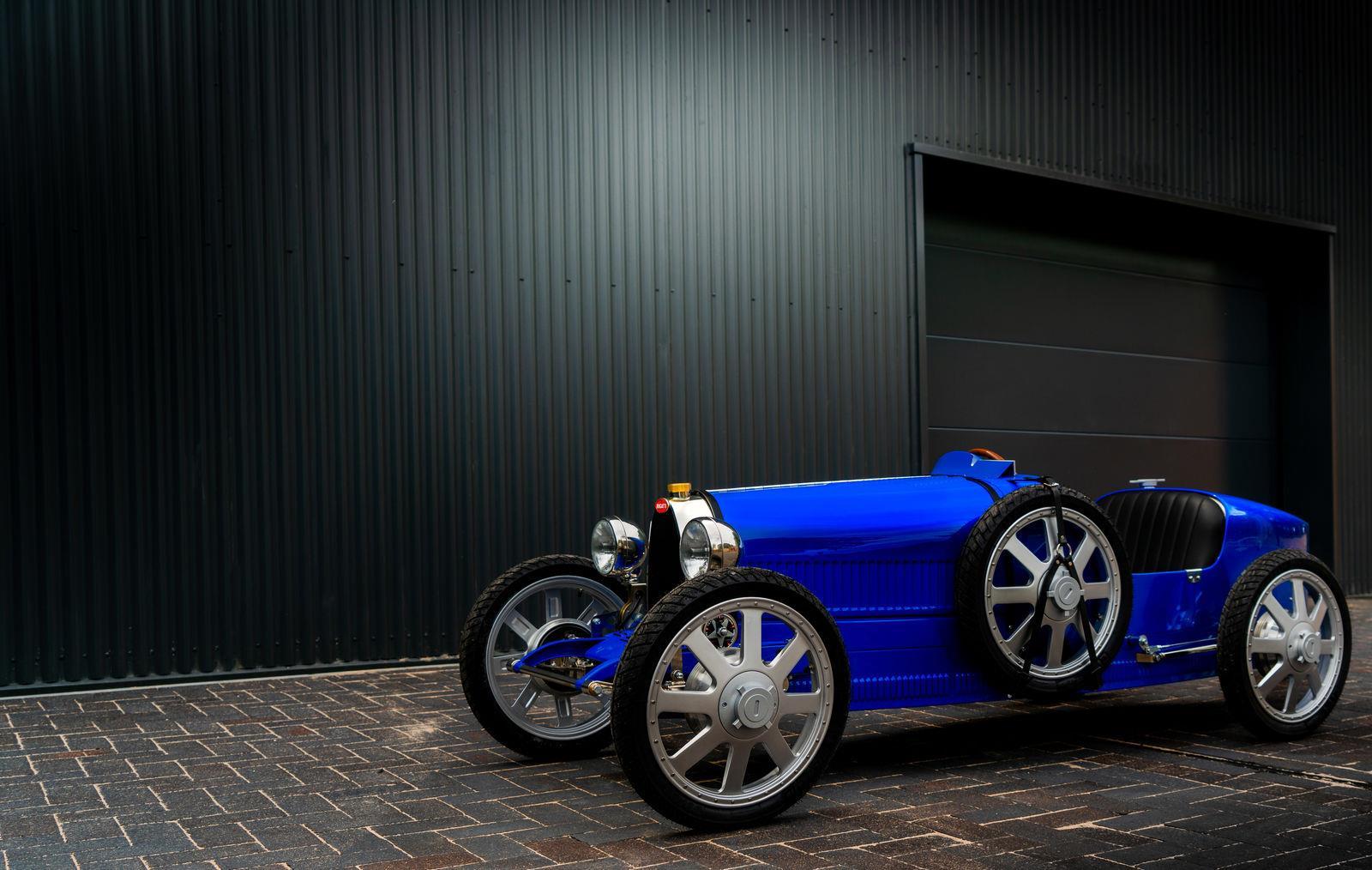 Bugatti ha creado el Baby II para los más  jóvenes apasionados por la marca.
