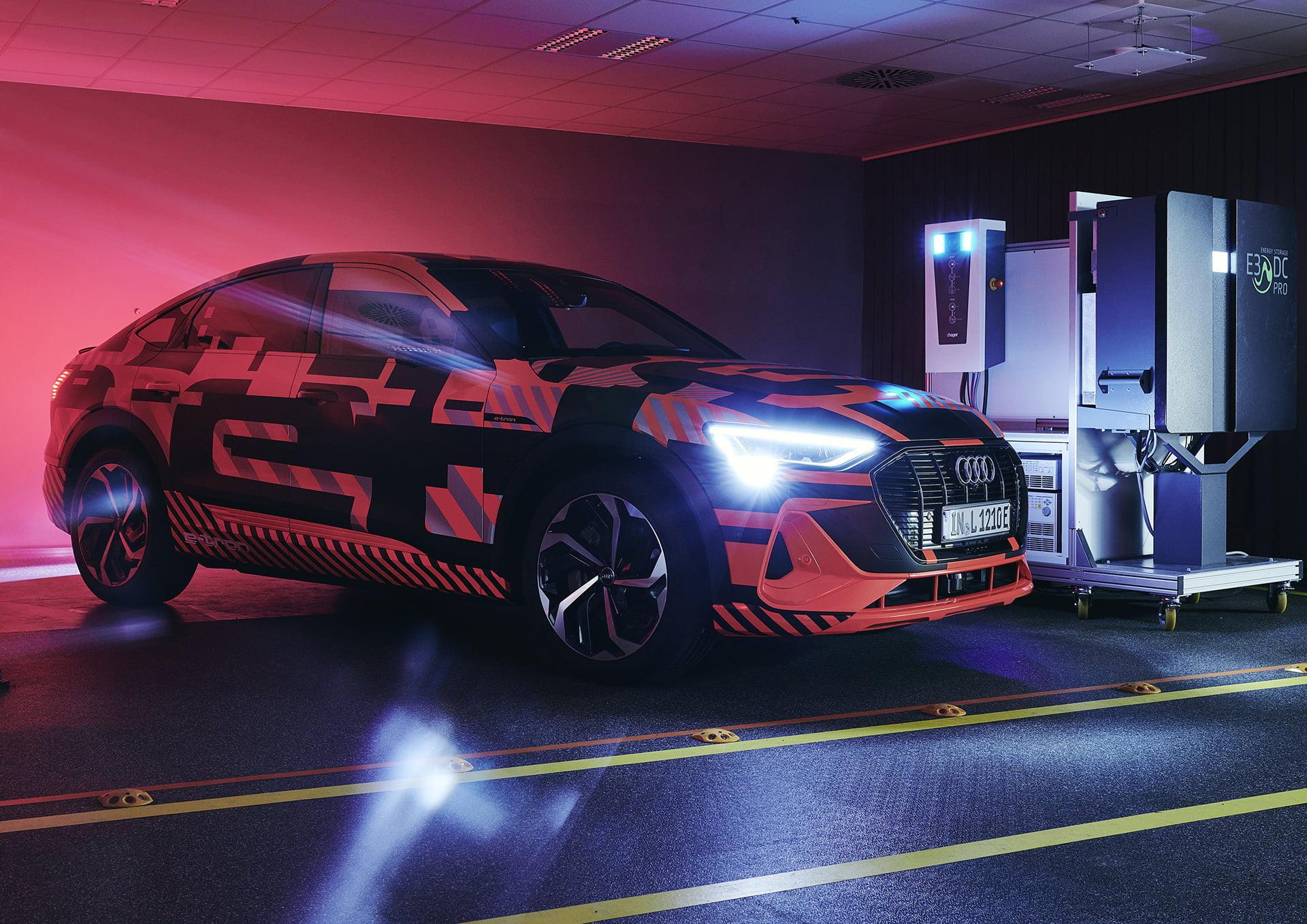 Audi con el e-tron sigue avanzando en tecnología de futuro