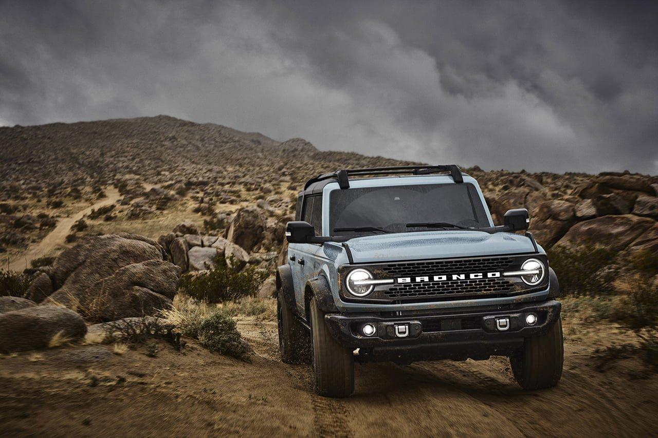 El Ford Bronco estará listo en primavera