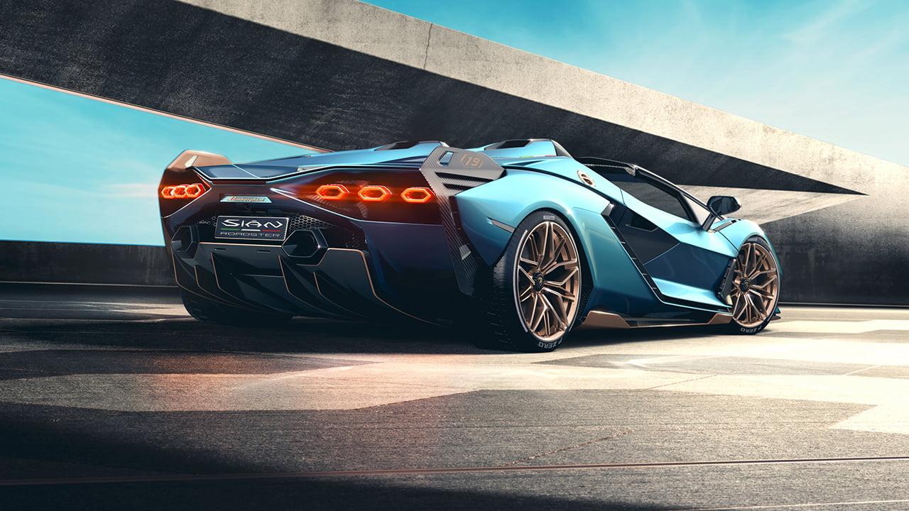 El Sián Roadster tiene un color exclusivo inspirado en el azul del mar