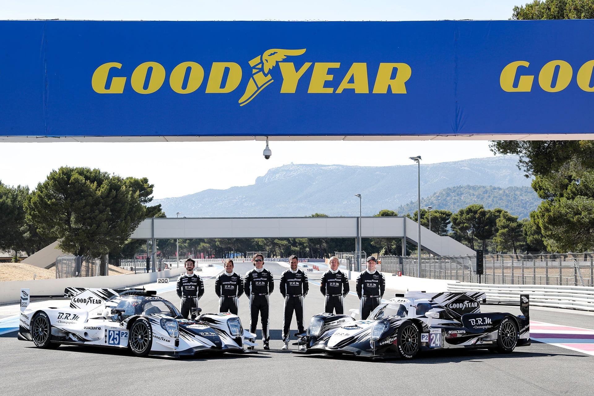 Goodyear crea un línea de relojes deportivos