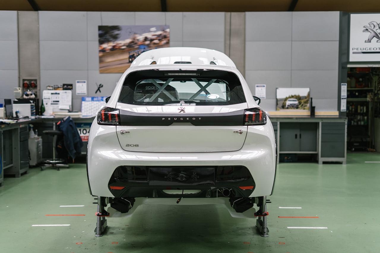 El Peugeot 208 Rally 4 ha sido evolucionado al máximo