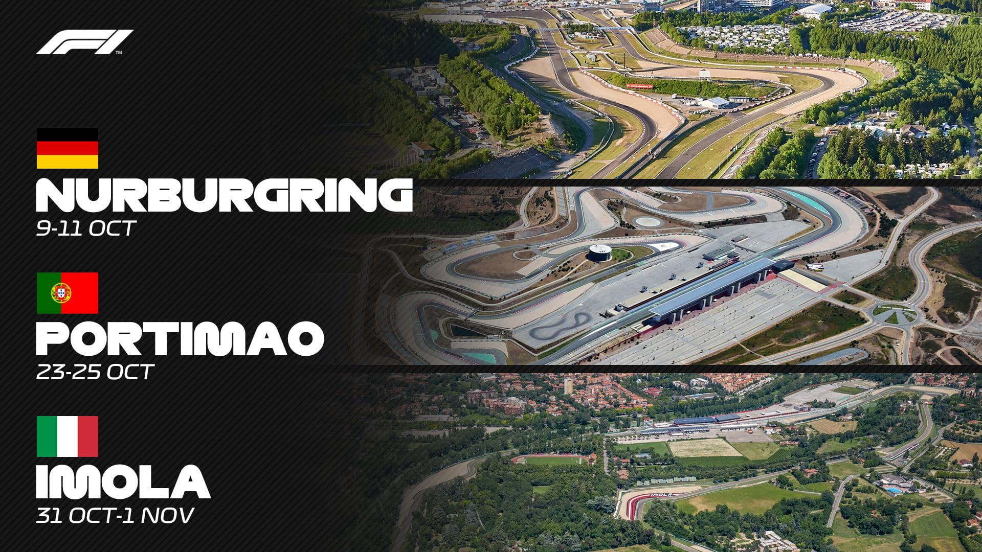 La F1 amplia el calendario europeo de pruebas