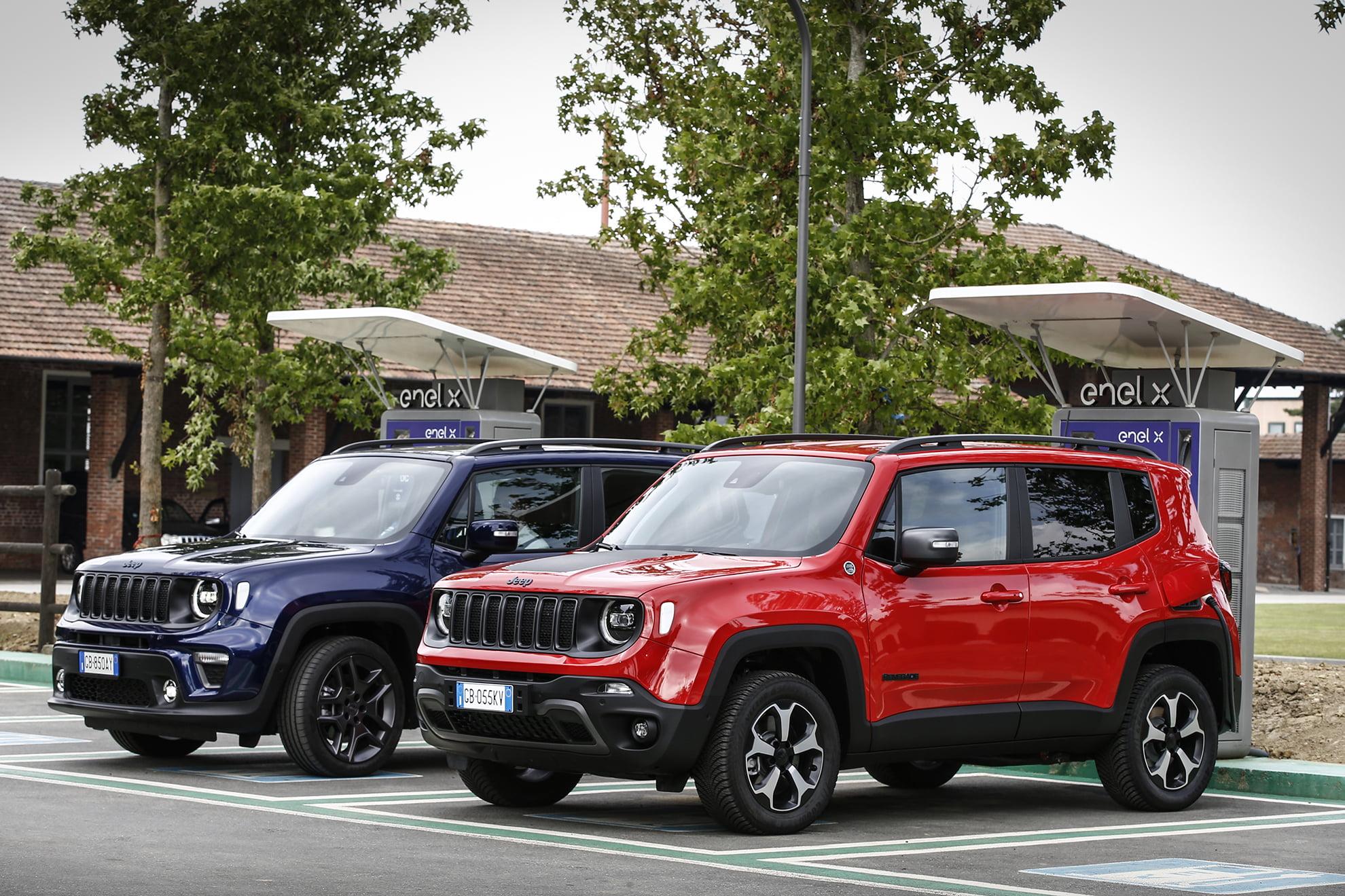 Jeep lanza al mercado sus nuevos modelos 4xe