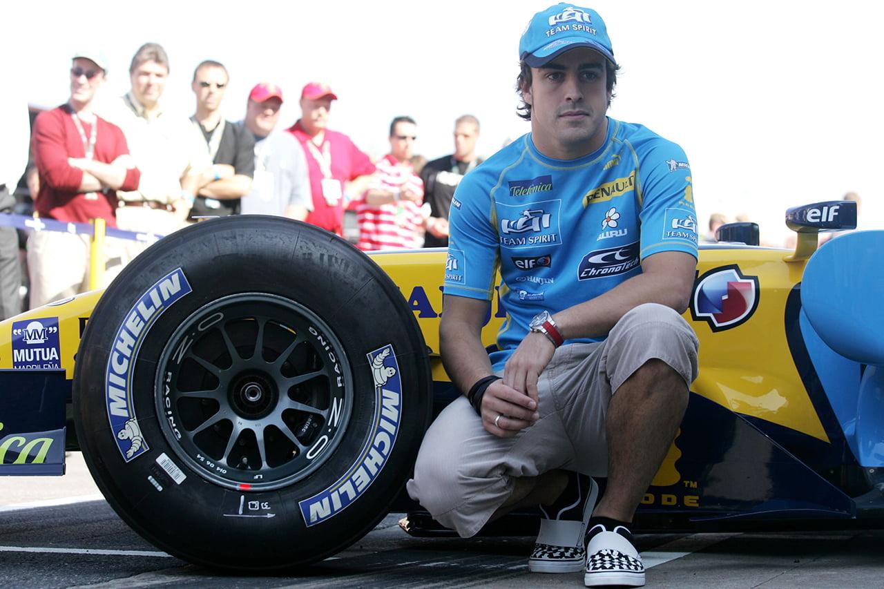 Alonso listo para una nueva etapa en Renault