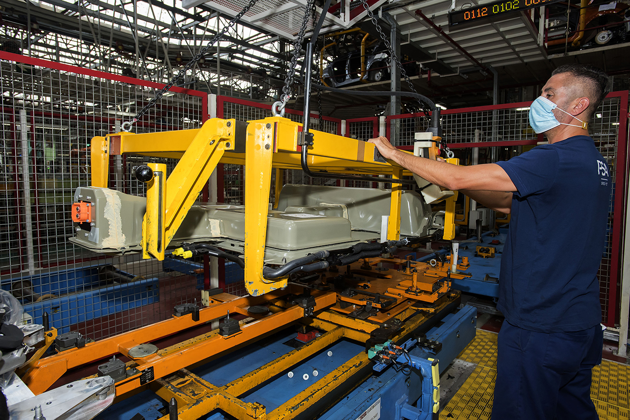 Peugeot tiene en Vigo una  de sus principales plantas de producción.