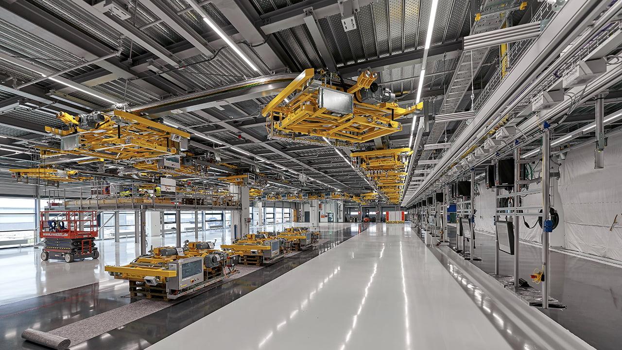 Leipzig es la planta de futuro para Porsche