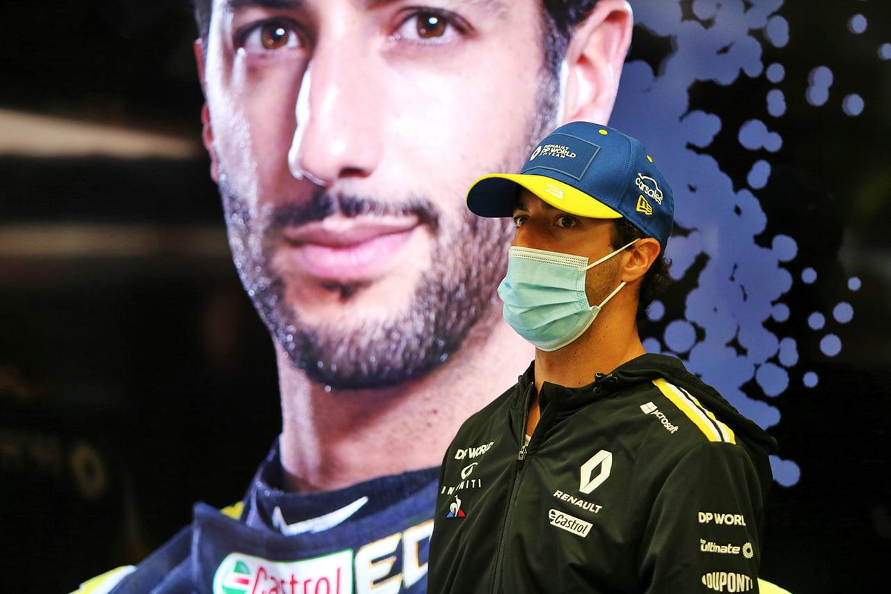Ricciardo tiene muy claro su papel en Renault