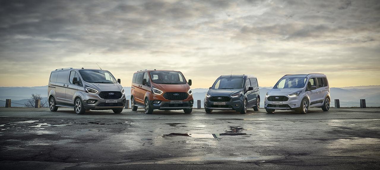 Ford amplia su gama con los modelos Connect Active