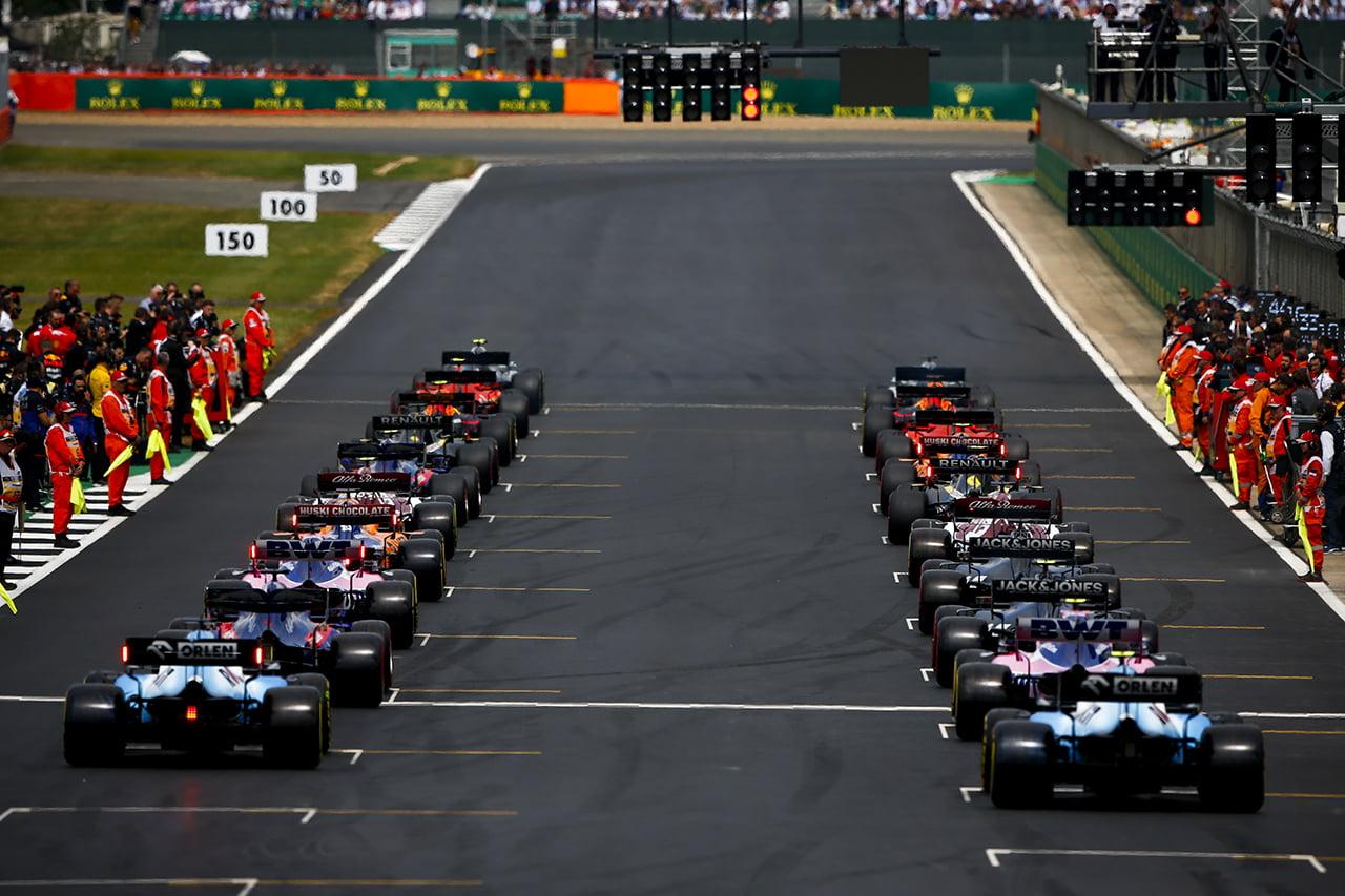 Silverstone se prepara para el extraño mundial 2020