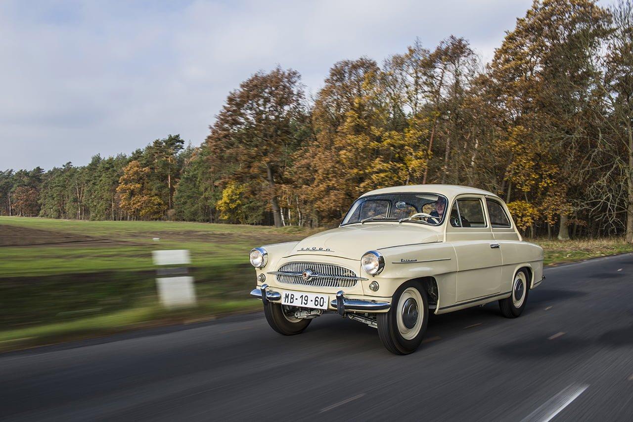 El Skoda Octavia llegó en 1959