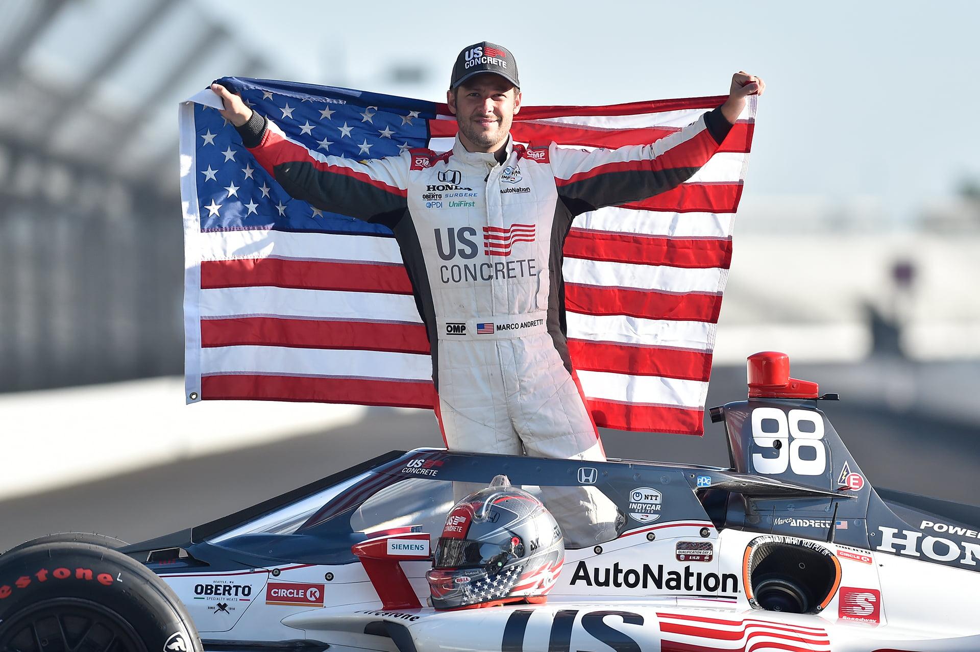 La Indy500 del 2020 tendrá a Marco Andretti en la pole position