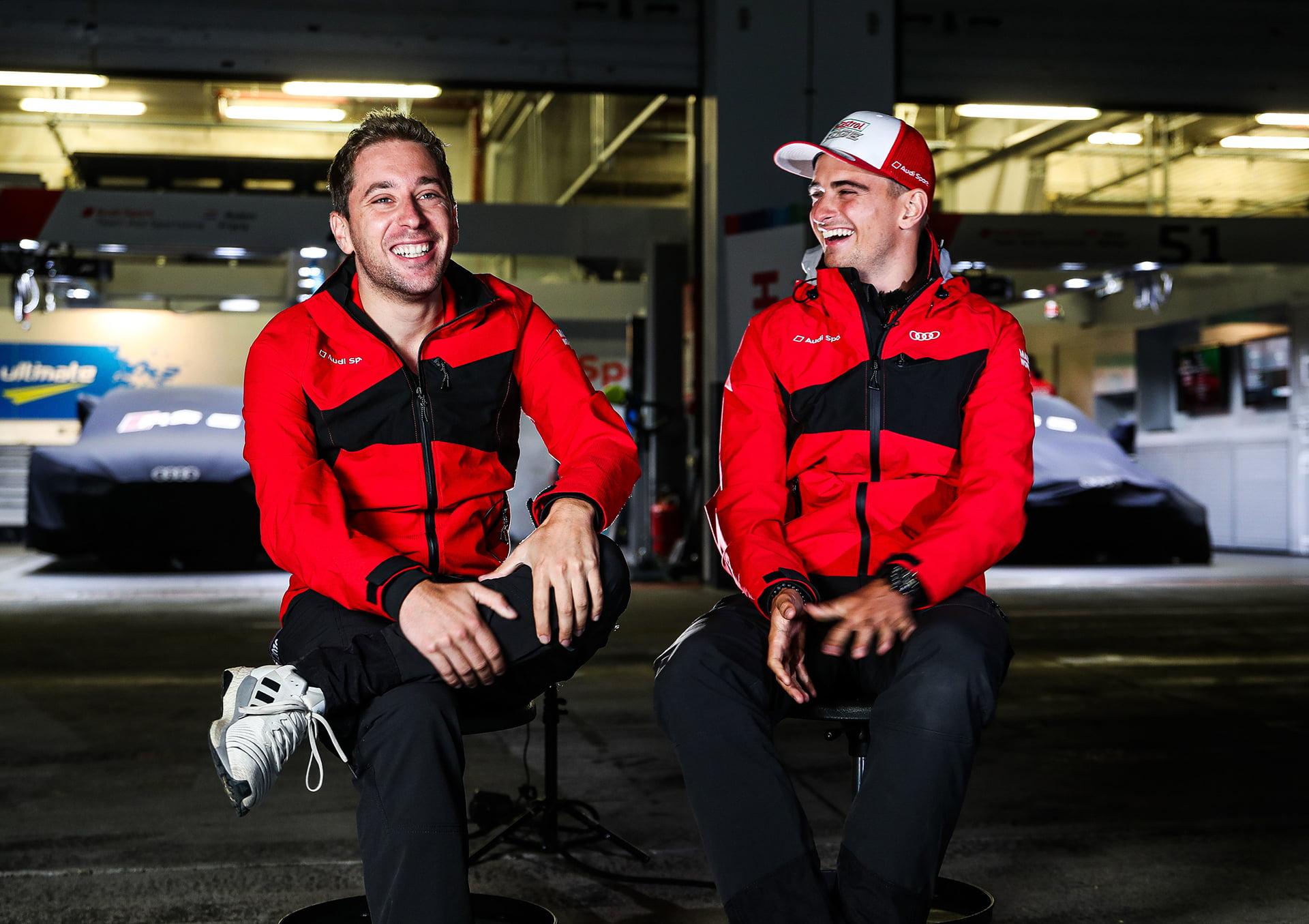 Frinjs y Müller son grandes amigos en la realidad