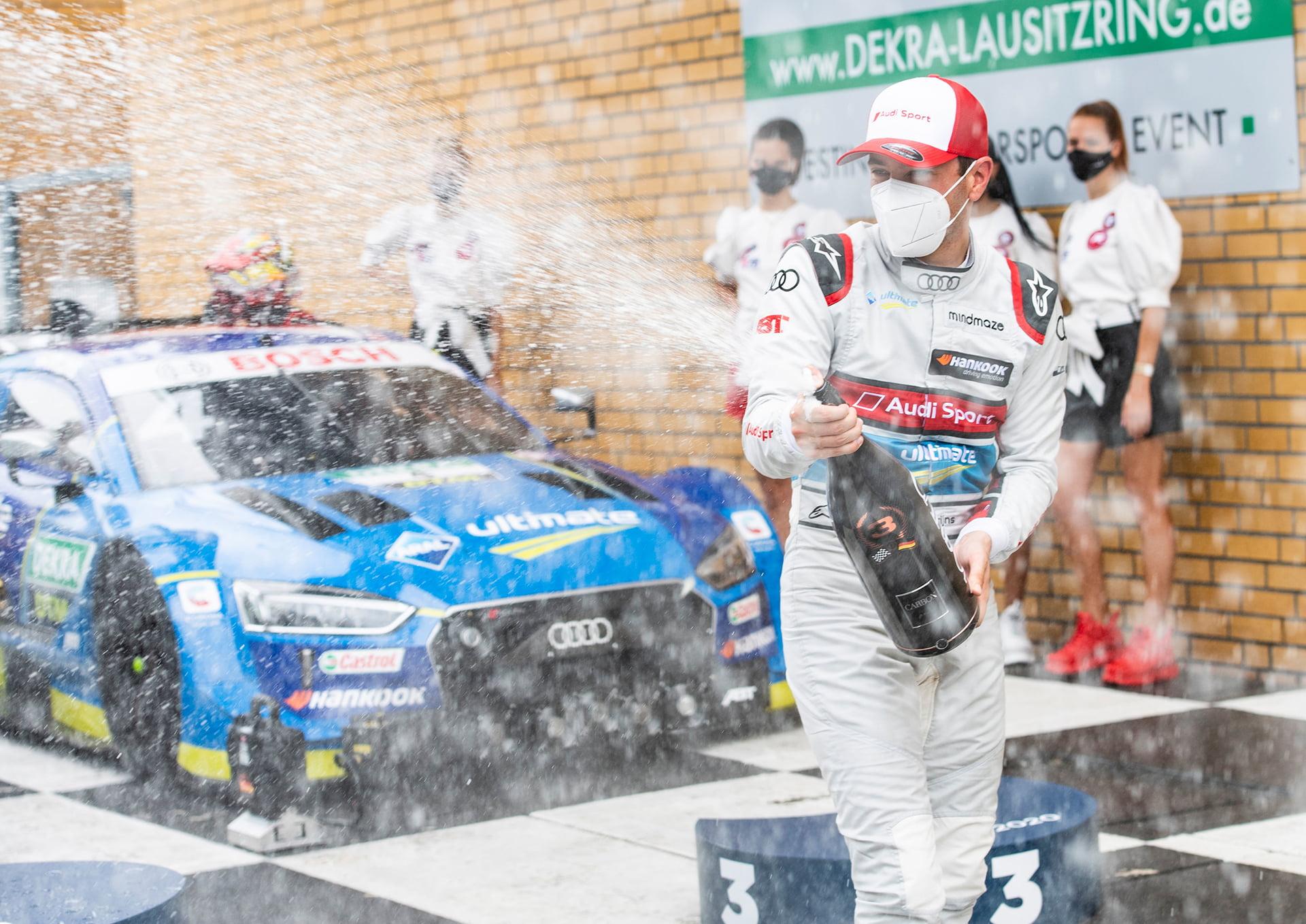 Frijns busca el triunfo en el DTM