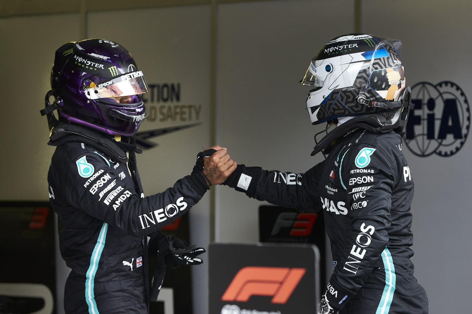 Bottas seguirá en Mercedes hasta 2021
