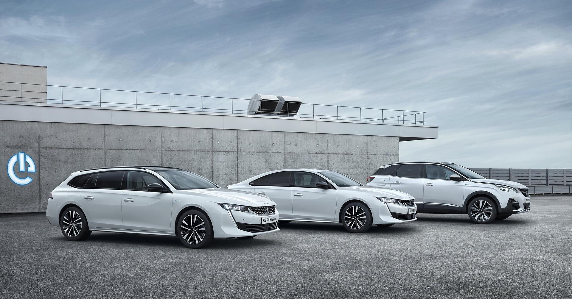 Peugeot amplia su gama de híbridos