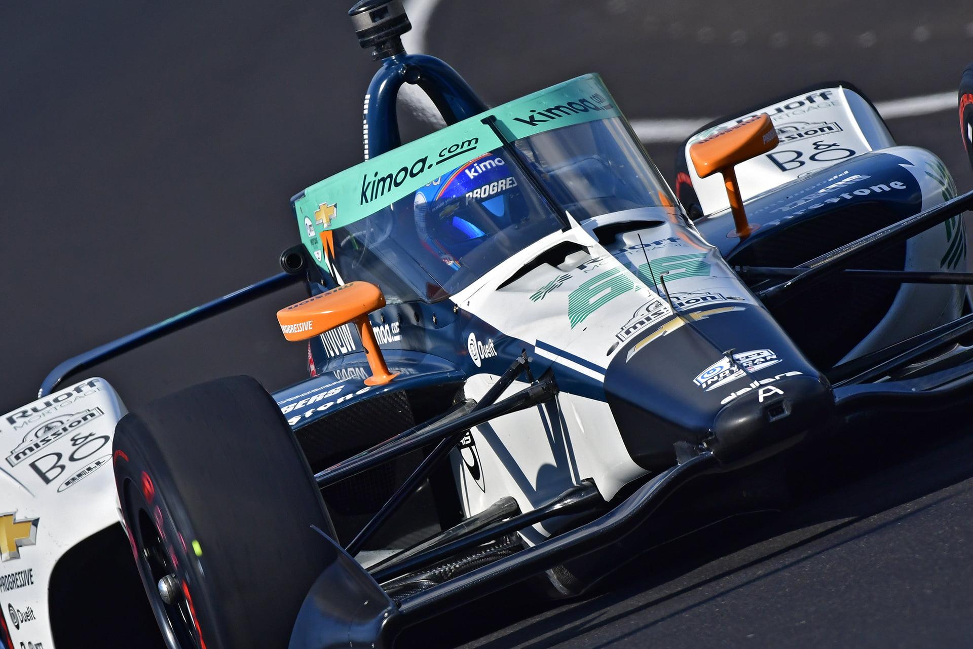 Fernando Alonso acaparó toda la atención en la Indy500