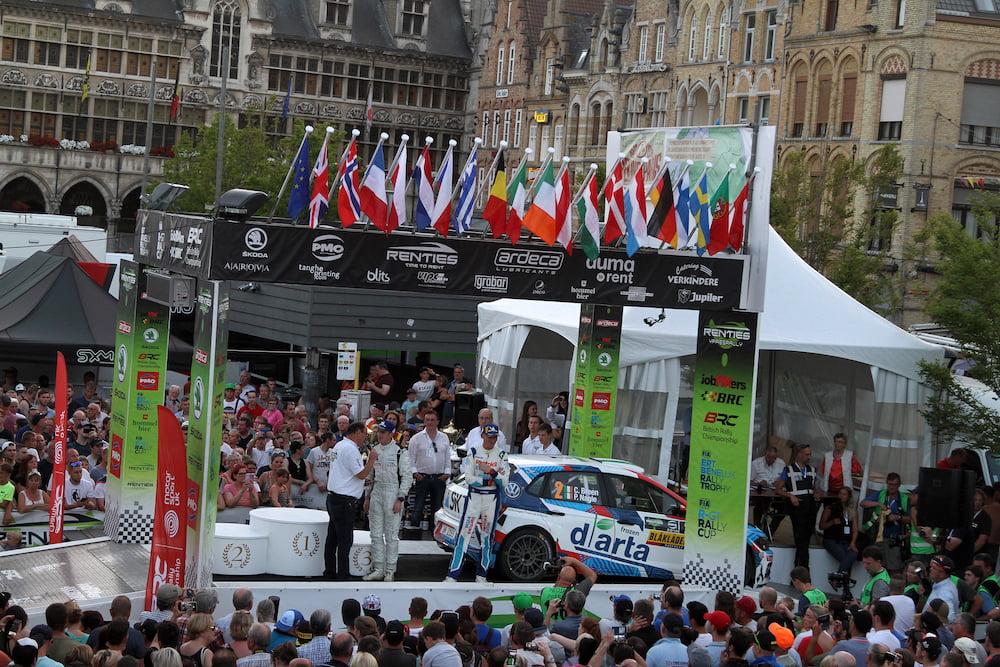 Bélgica se convierte en el país 34 en la historia del Mundial de Rallyes
