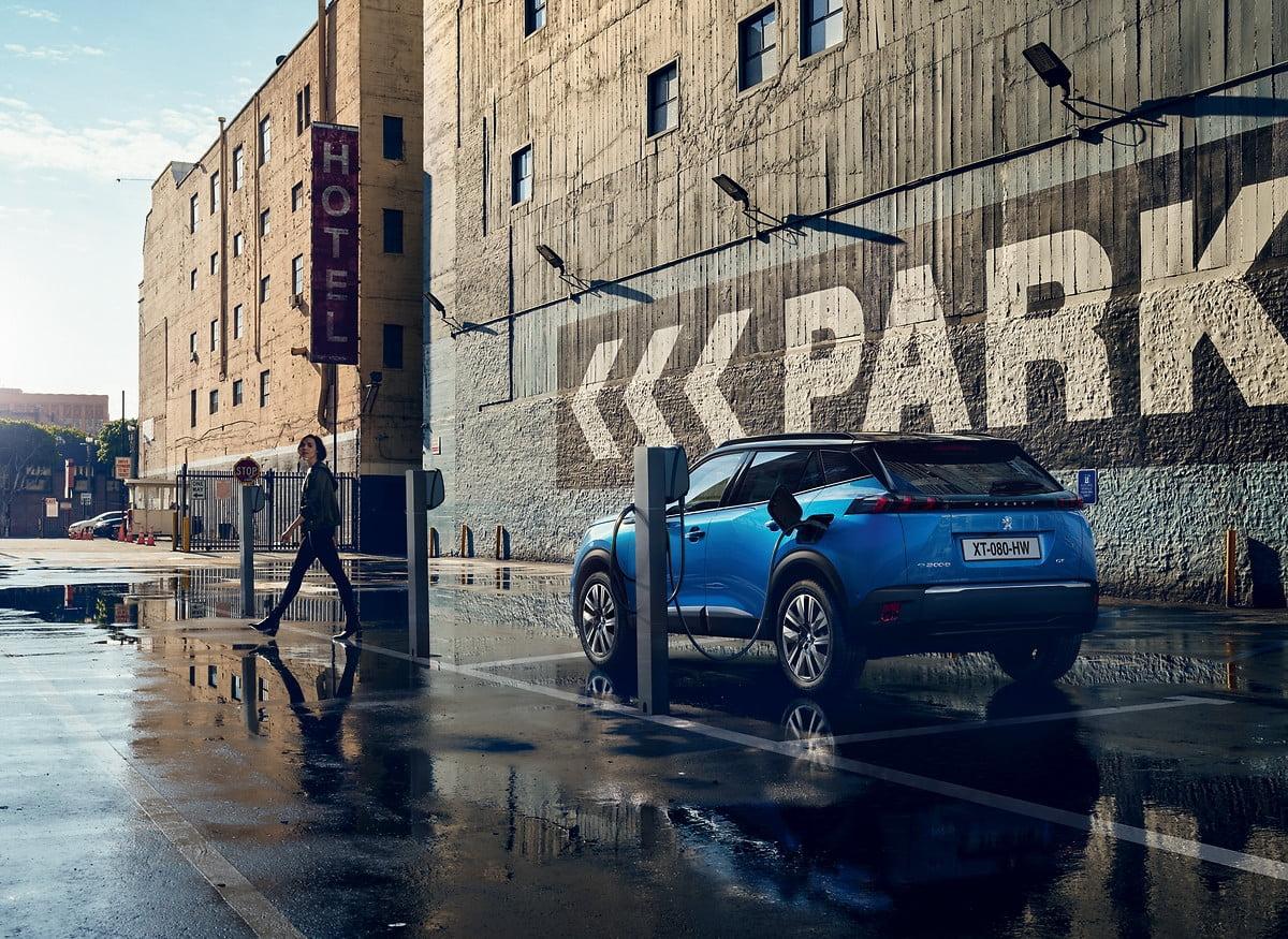 Los vehículos eléctricos aumentan su cuota de mercado.