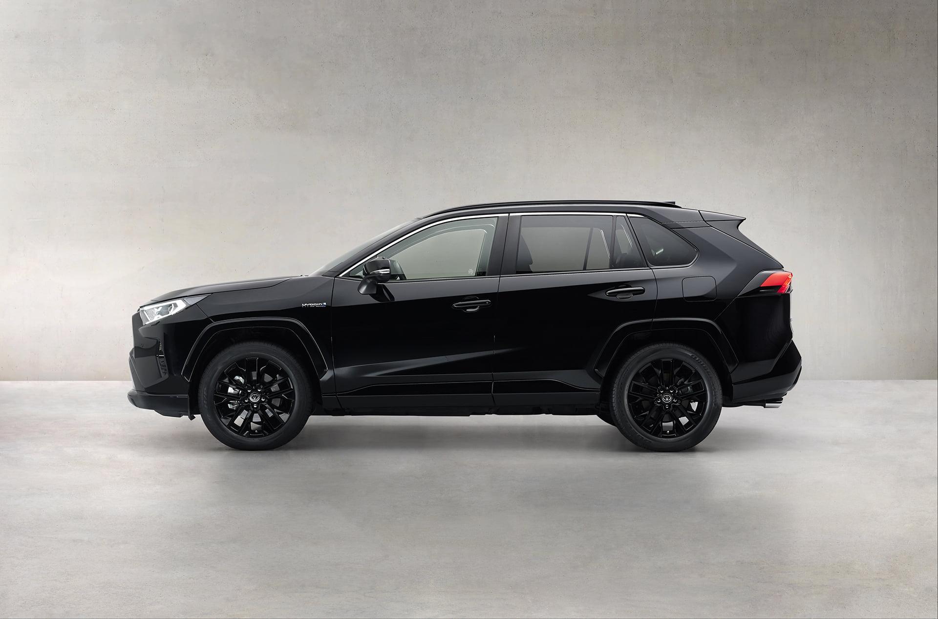 RAV4 Electric Hybrid, ahora con una nueva versión Black Edition