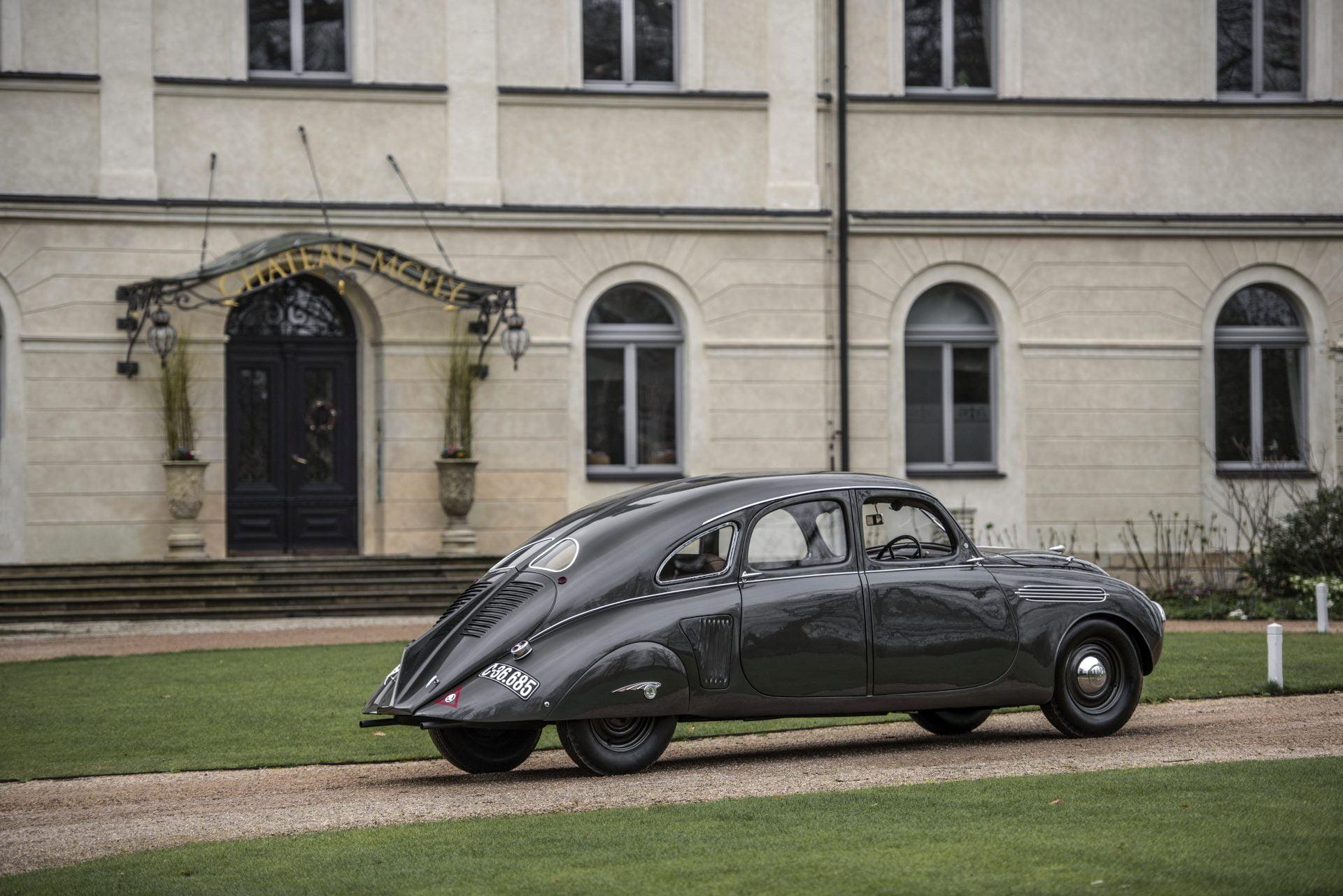 El Skoda 935  dynamic fue recuperado para el museo de la marca.