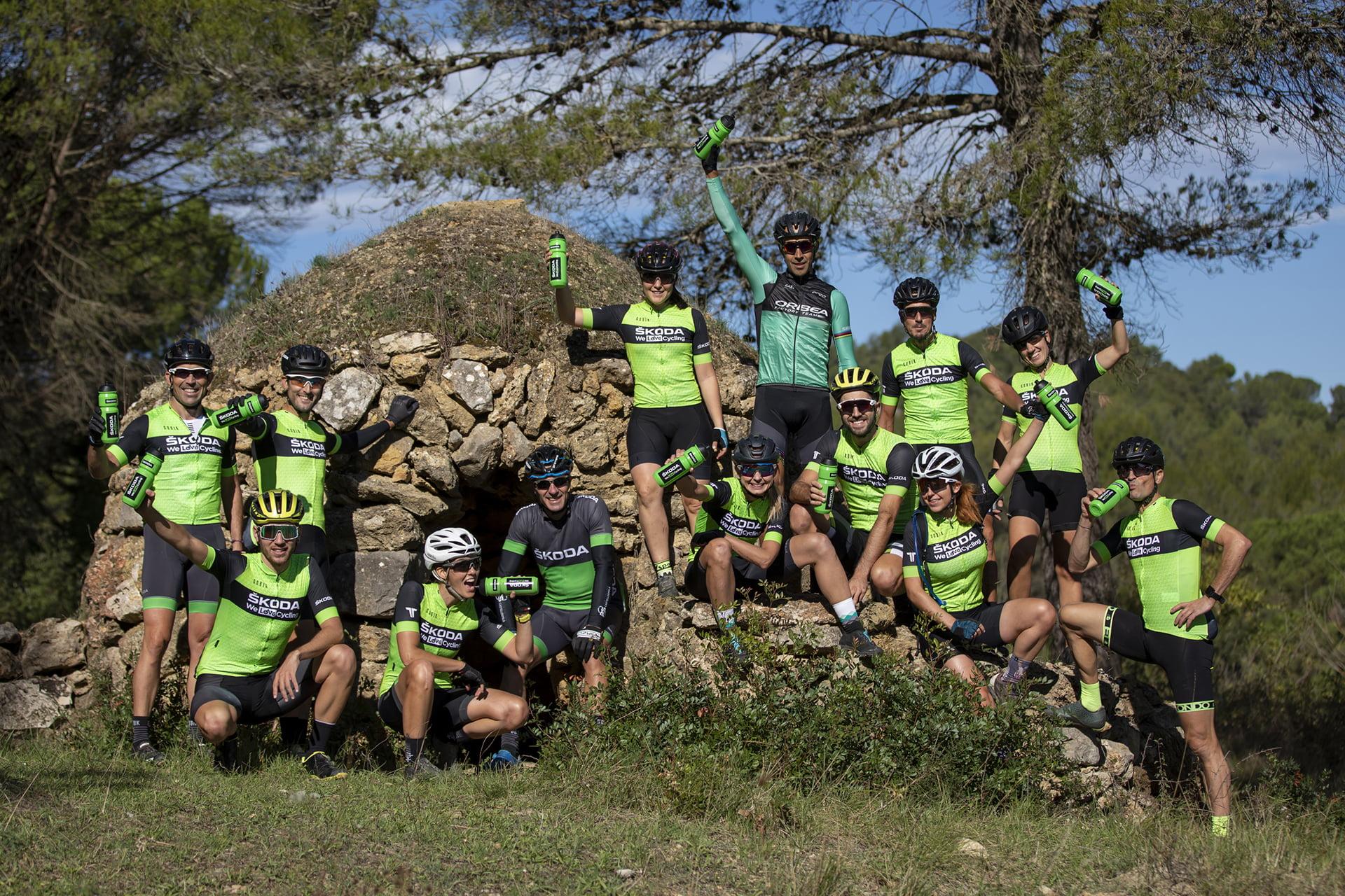 Skoda apuesta por el ciclismo con un equipo propio en la Titan Desert 2020