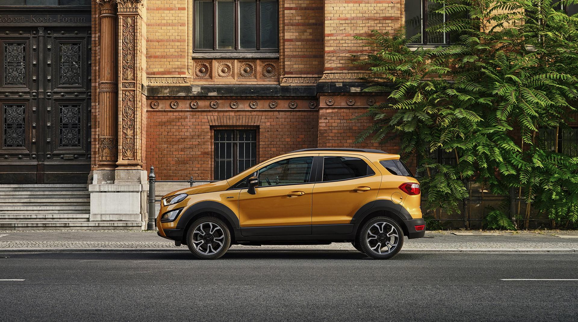 EcoSport Active, la nueva apuesta deportiva en la gama del SUV de Ford.