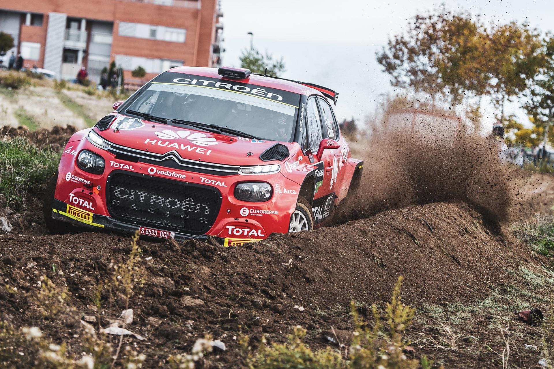 Pepe López dominó el Rallye de Madrid
