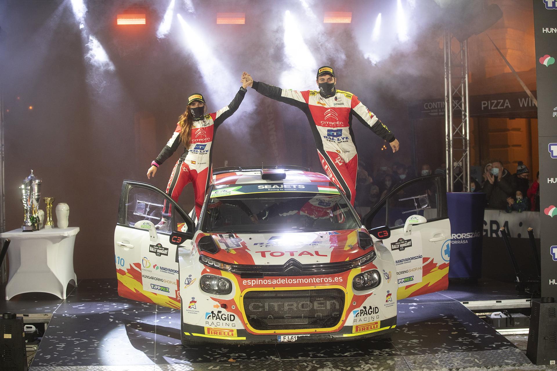 El Rallye Team Spain subió al podio en sus dos categorías.