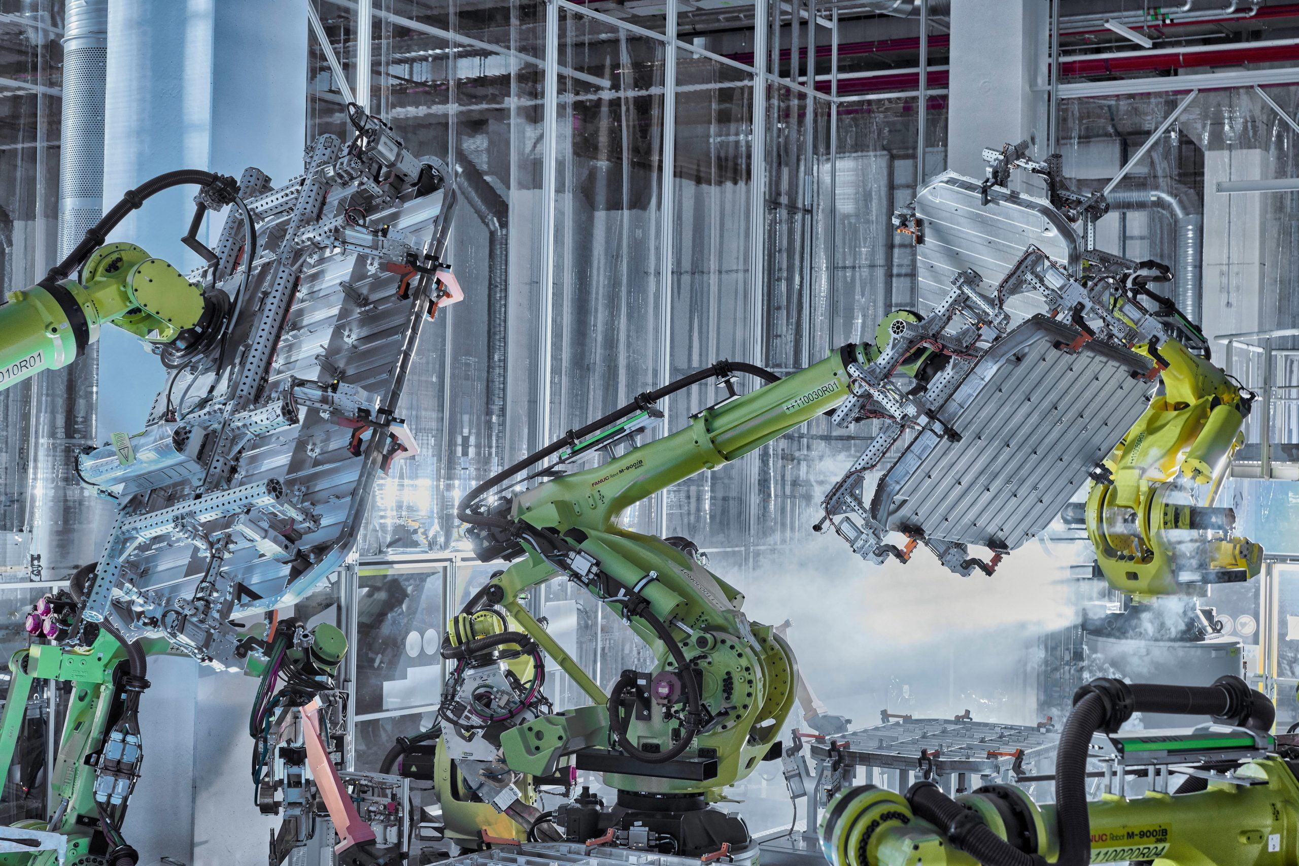 Audi también reduce emisiones en la fabricación de sus baterías.