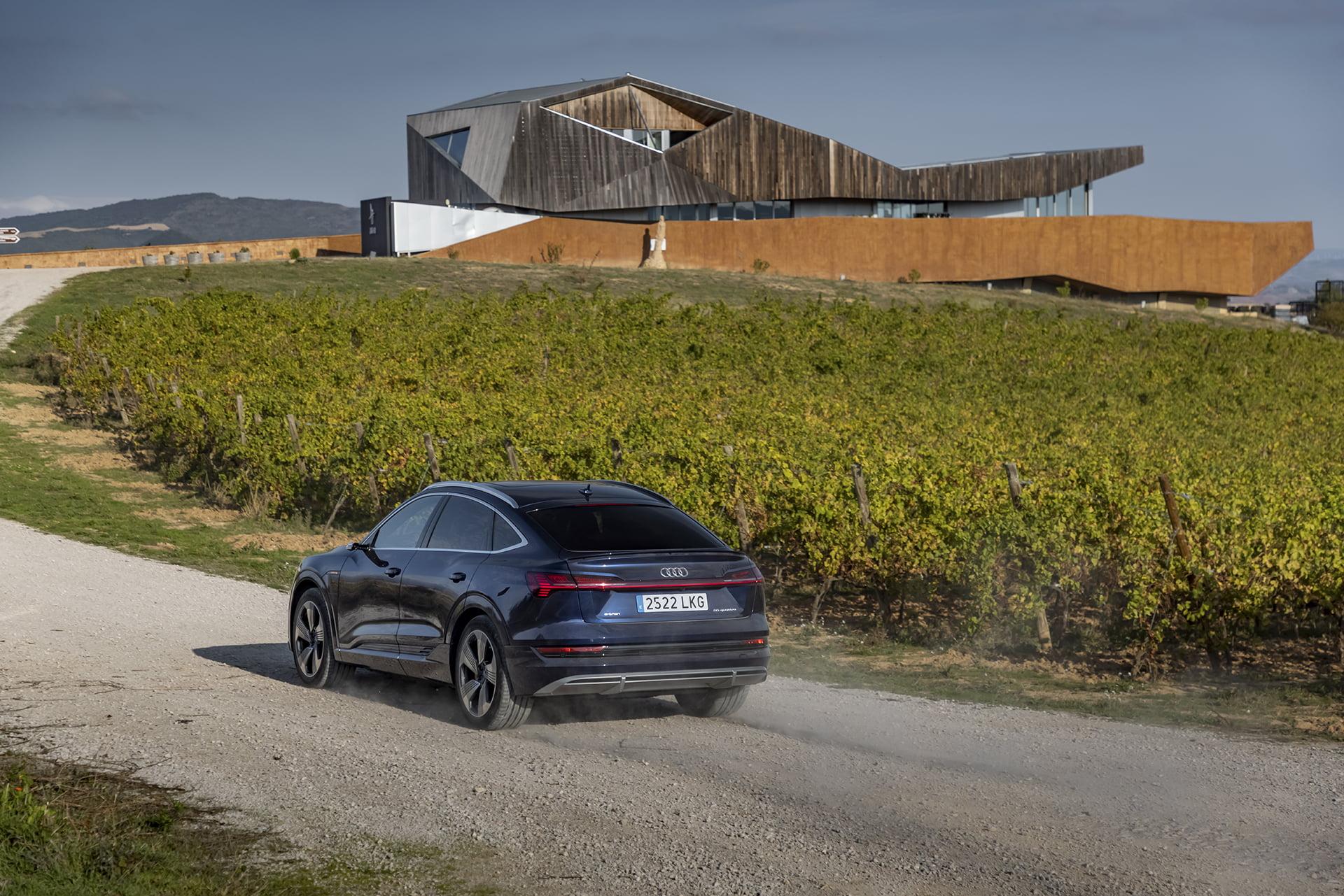 El e-tron Sportback es el segundo modelo 100% eléctrico de Audi.