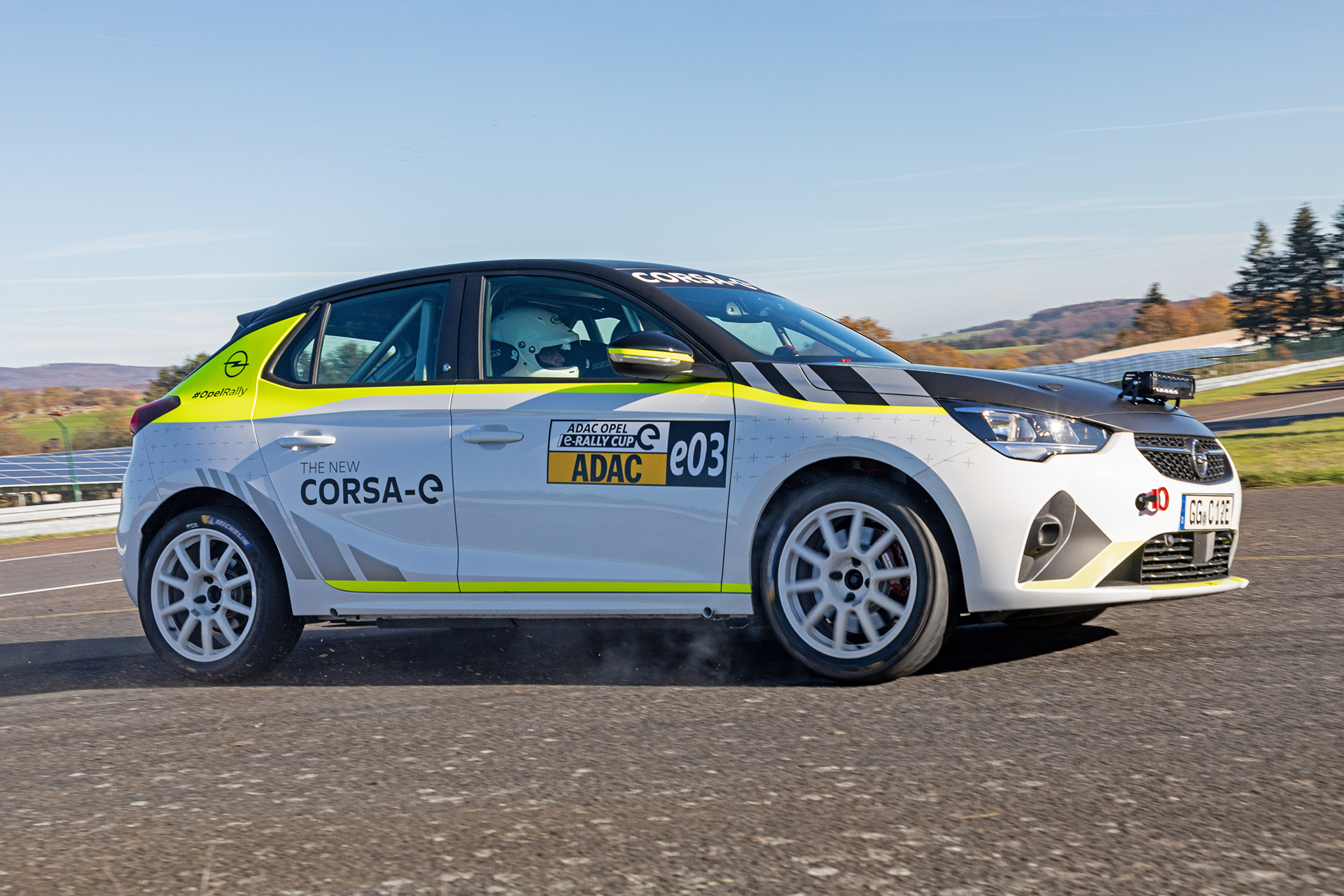 El Corsa-e Rally competirá en la ADAC Cup alemana durante el próximo año.