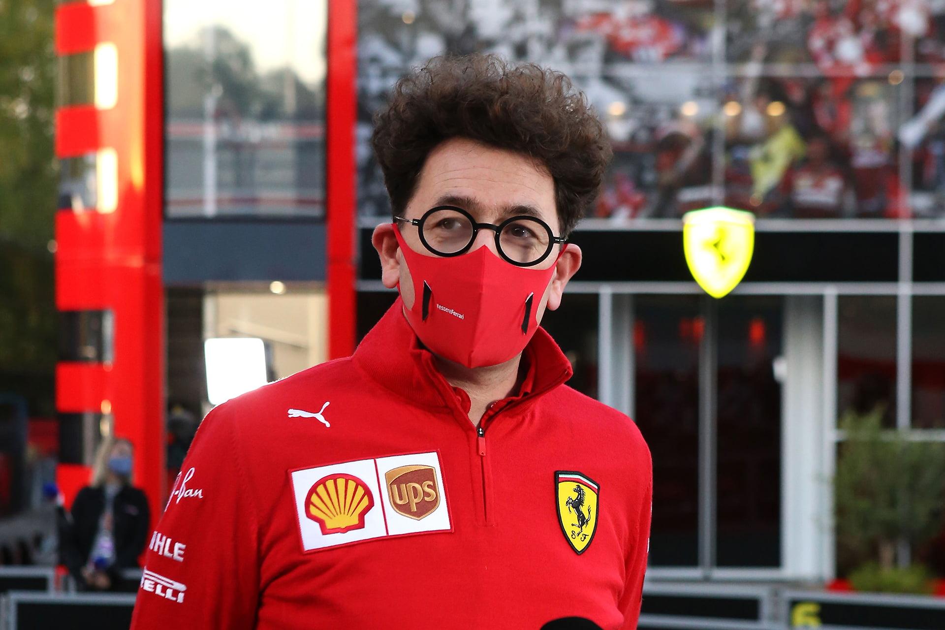 El propio Binotto ha confirmado el espacio Haas F1 en Maranello.