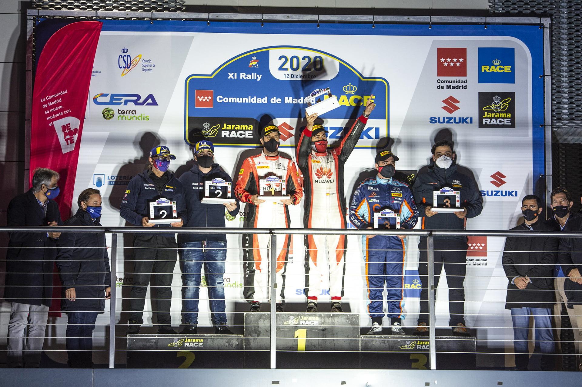 El Rallye-RACE 2020 puso un gran final a la temporada del CERA.