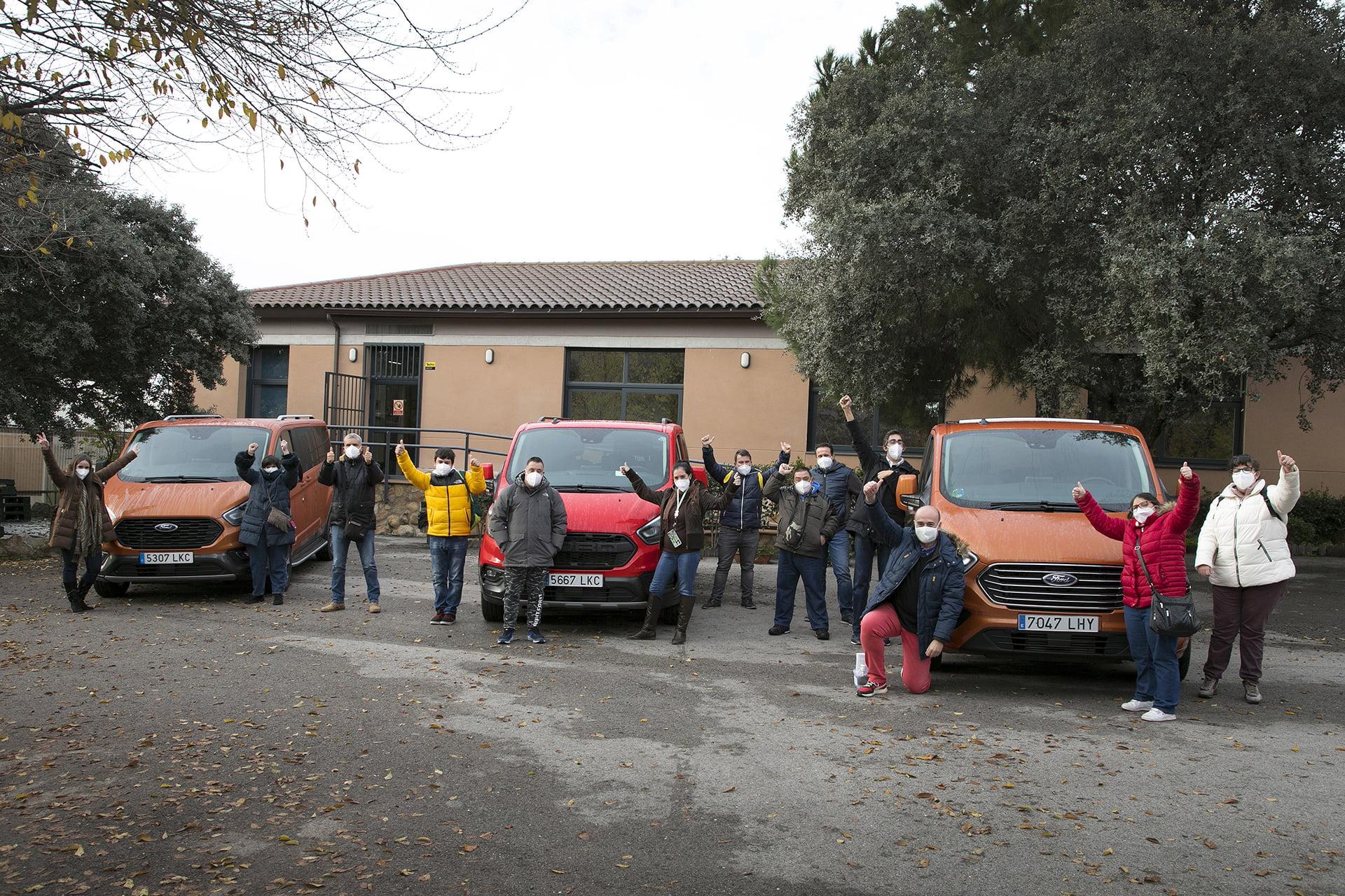 Un año más Ford España estuvo al lado de la Fundación APASCOVI con sorpresas y emociones.
