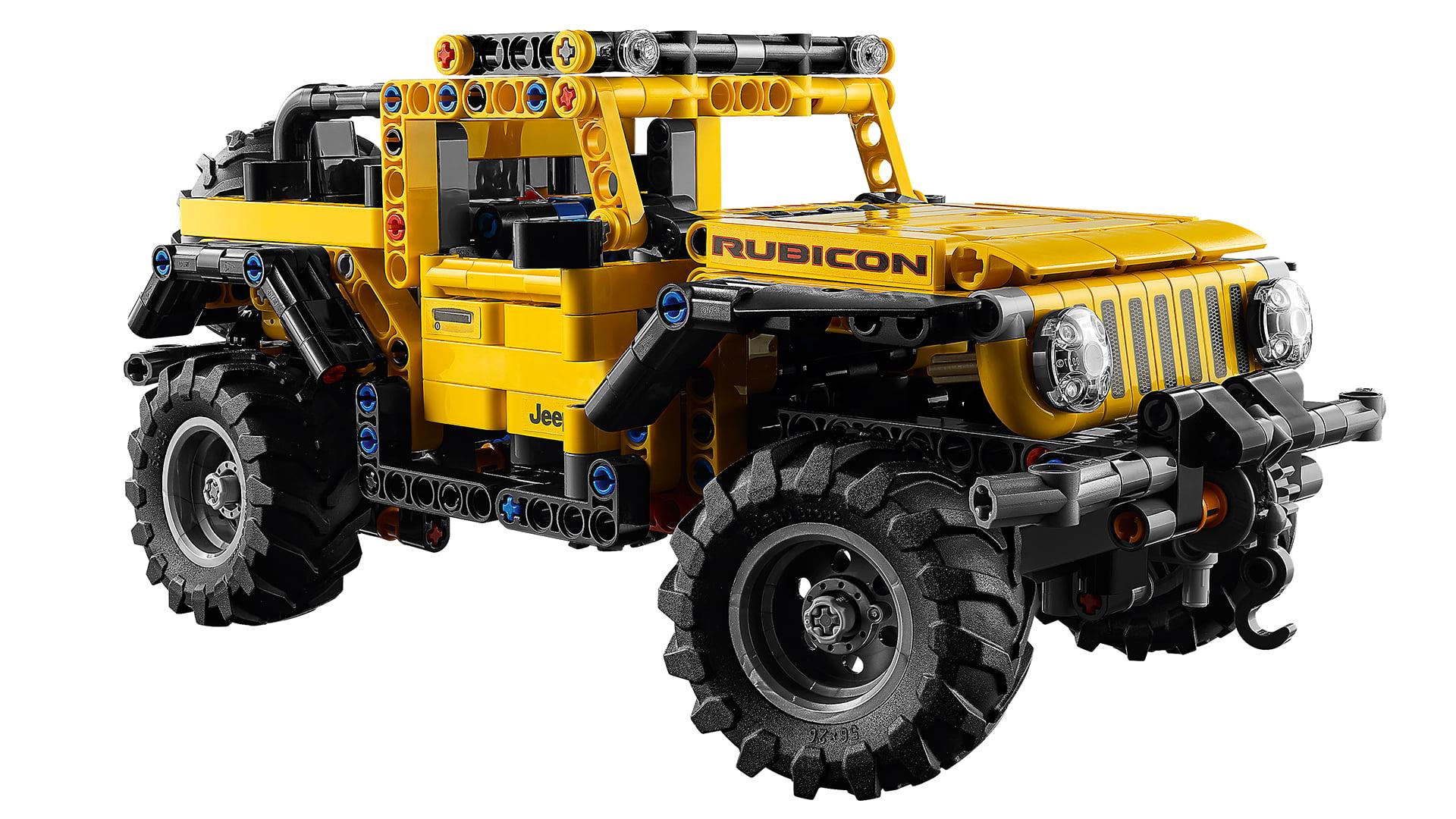 LEGO y Jeep se han unido para crear una gran reproducción del Wrangler
