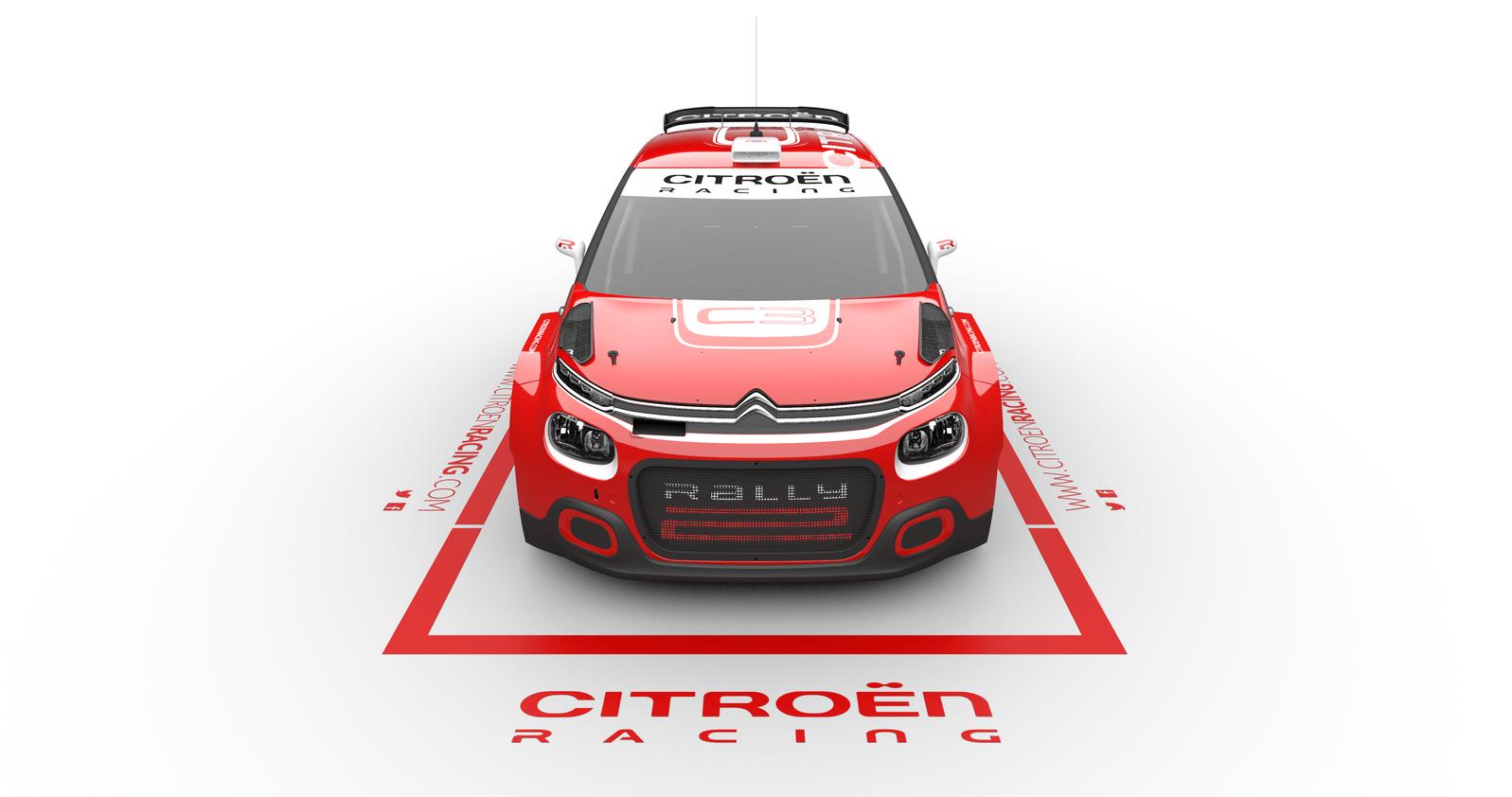 El C3 Rally2 de Citroën Racing estrena colores y nombre.
