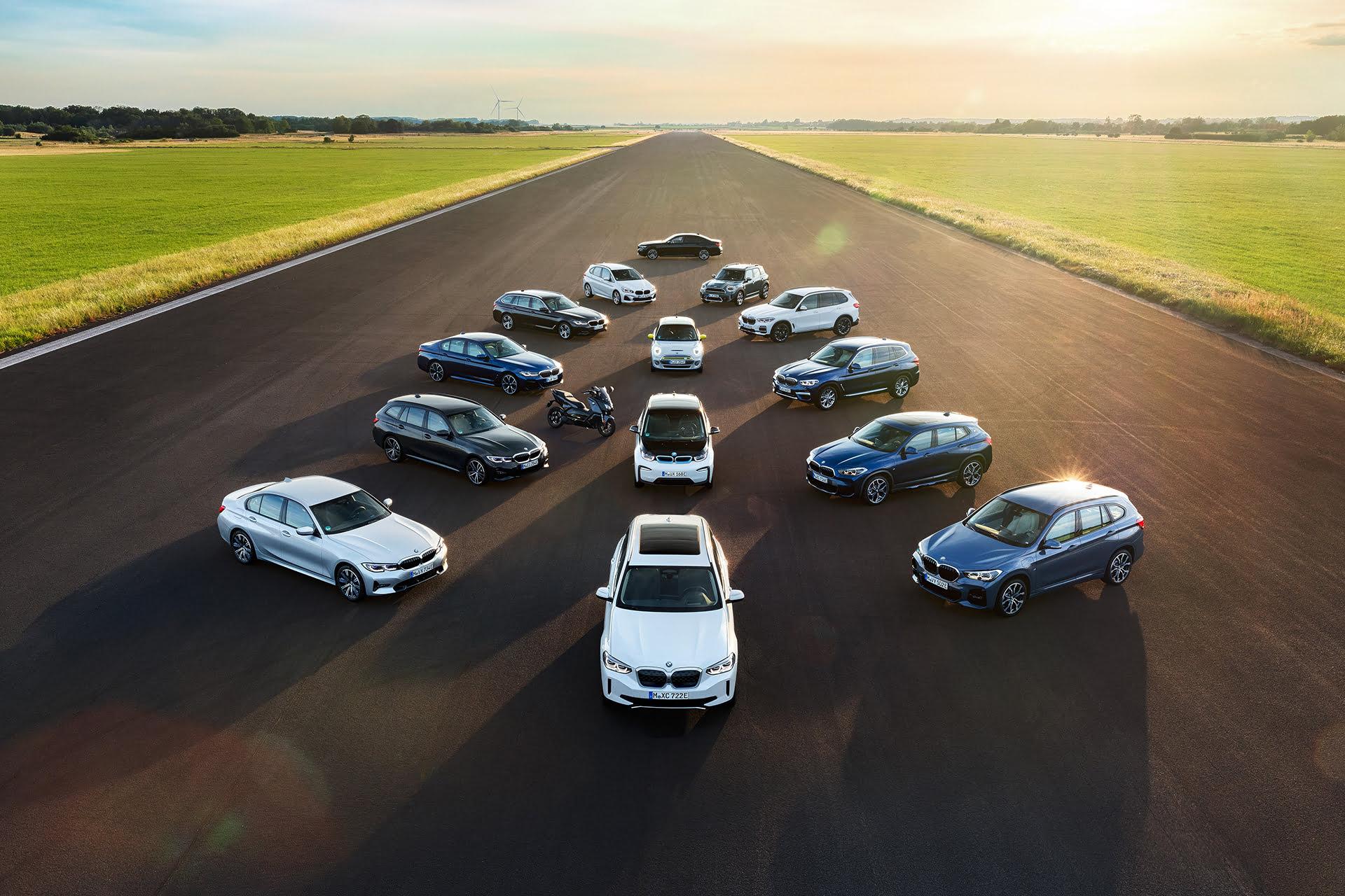 BMW sigue adelante con su objetivo de electrificación hasta el 2030